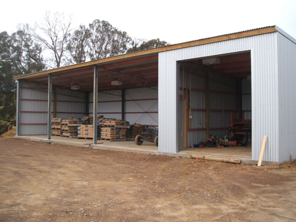Faulknor Construction Implement Sheds Haybarns